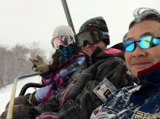 雪にも負けず・・・|GALA湯沢スキー場のクチコミ画像2
