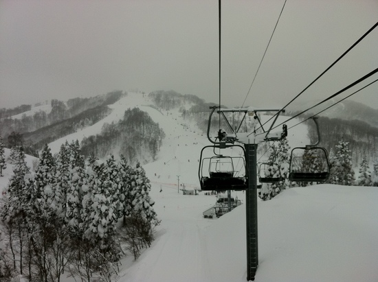 雪にも負けず・・・|GALA湯沢スキー場のクチコミ画像3