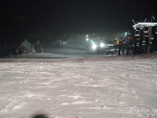 12月3連休のナイター|岩原スキー場のクチコミ画像
