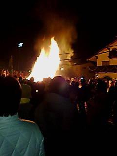 火祭り!|白馬八方尾根スキー場のクチコミ画像