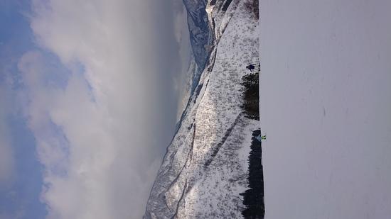 絶景の中の親子スノボ|神立スノーリゾート(旧 神立高原スキー場)のクチコミ画像