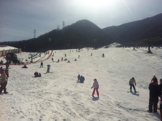 残念ながらガッチガチ|カムイみさかスキー場のクチコミ画像