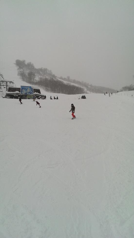 積雪十分。 奥只見丸山スキー場のクチコミ画像