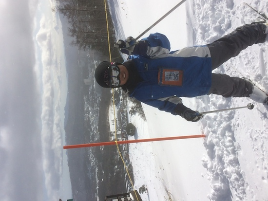 初心者もてっぺんに 草津温泉スキー場のクチコミ画像