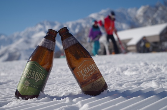 山頂のビール屋さん|白馬岩岳スノーフィールドのクチコミ画像