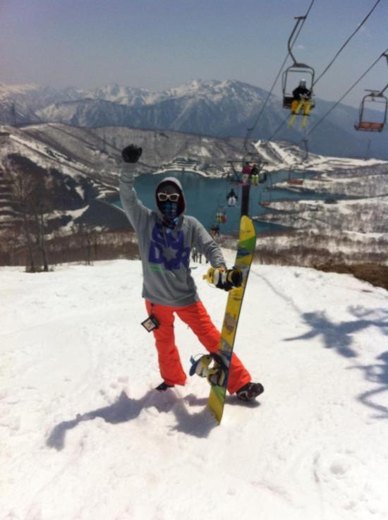 ふかふかサイコー!|かぐらスキー場のクチコミ画像