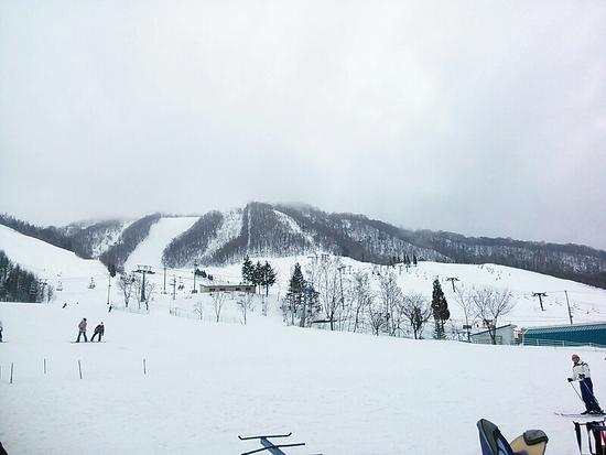 ゲレンデ満足(^_^)天気が(>_<) 飛騨ほおのき平スキー場のクチコミ画像