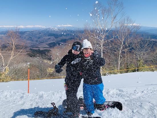 最高の景色 滑走距離奥美濃No.1|めいほうスキー場のクチコミ画像