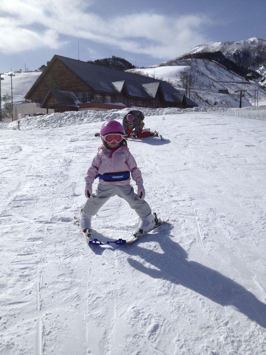 天気は最高、風は最強!? 草津温泉スキー場のクチコミ画像