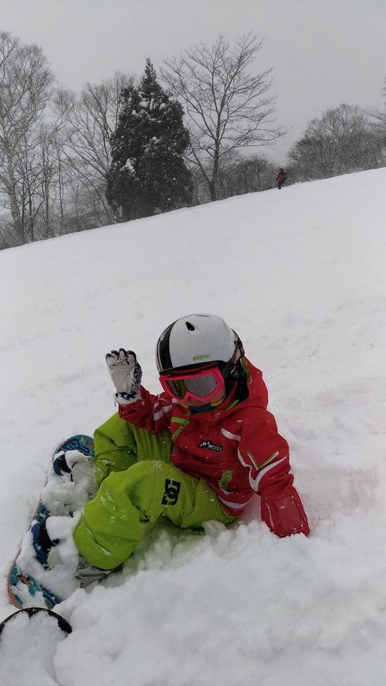 子供と楽しく|池の平温泉スキー場のクチコミ画像