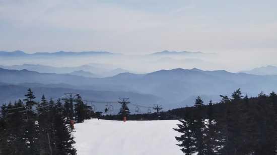 雲海が見えます|志賀高原 熊の湯スキー場のクチコミ画像