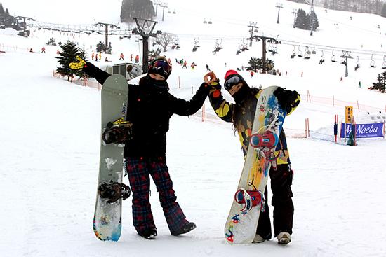 今年は最高ですね|苗場スキー場のクチコミ画像