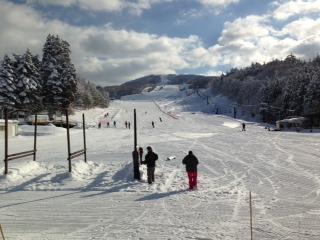 雪増えました。|会津高原南郷スキー場のクチコミ画像