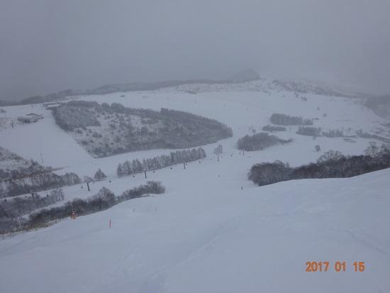 全コースオープンしてます! しかも新雪!|車山高原SKYPARKスキー場のクチコミ画像1