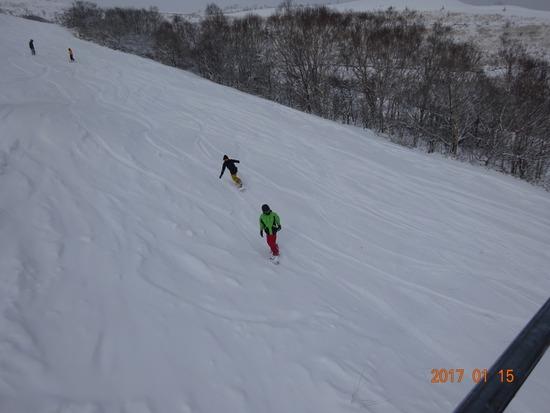 全コースオープンしてます! しかも新雪!|車山高原SKYPARKスキー場のクチコミ画像2