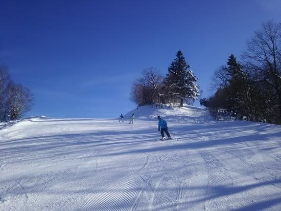 快晴|飛騨ほおのき平スキー場のクチコミ画像1