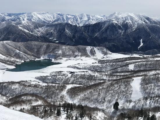 田代湖最高の景色|かぐらスキー場のクチコミ画像