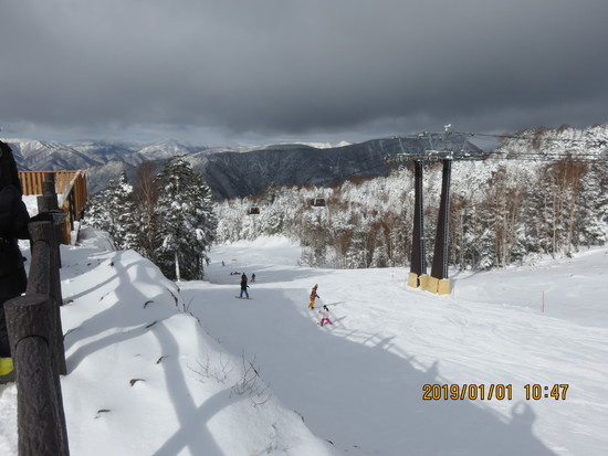 曇り時々晴れ、無風なれど気温低し|丸沼高原スキー場のクチコミ画像