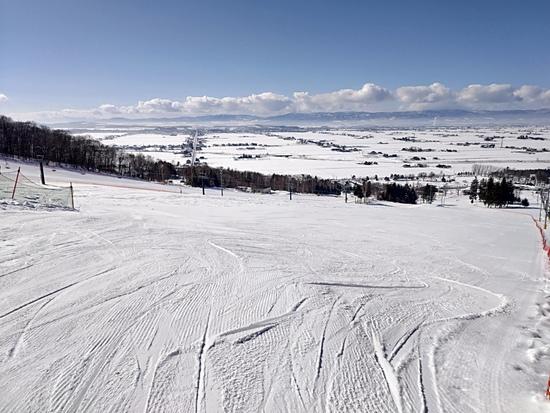 空いているスキー場です。|キャンモアスキービレッジのクチコミ画像