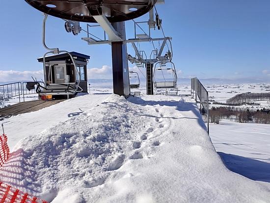 空いているスキー場です。|キャンモアスキービレッジのクチコミ画像3