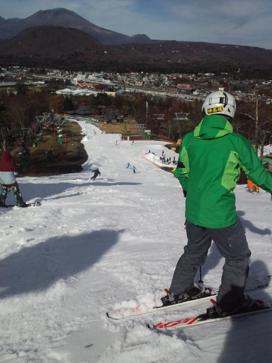 初滑りはちょっとセレブ?|軽井沢プリンスホテルスキー場のクチコミ画像
