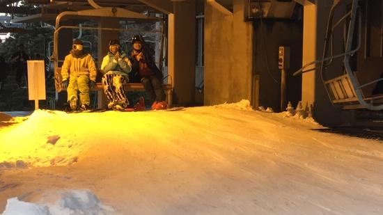 今年初滑り|ふじてんスノーリゾートのクチコミ画像