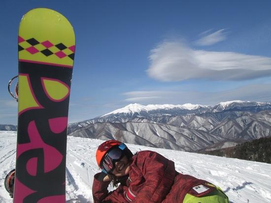 野麦からの景色|信州松本 野麦峠スキー場のクチコミ画像