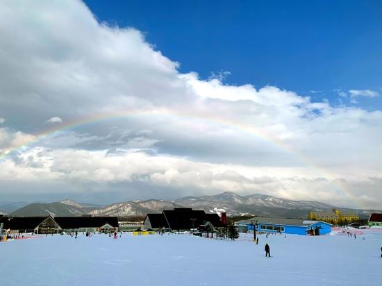 雨上がりの虹 安比高原スキー場のクチコミ画像2