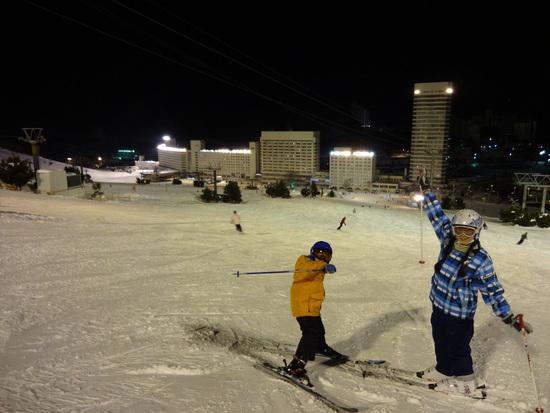 滑り応え十分!|苗場スキー場のクチコミ画像