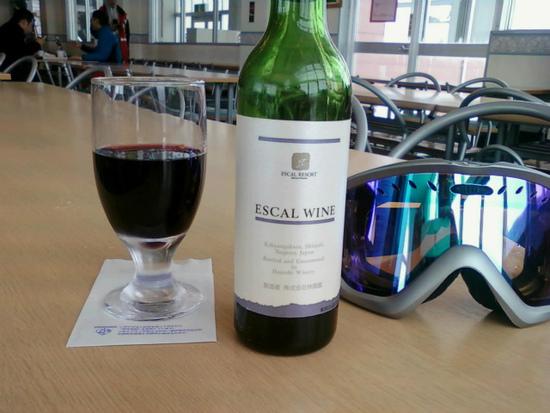スキー場オリジナルワイン