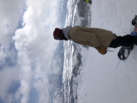 雲海が晴れた後の絶景!|ムイカスノーリゾートのクチコミ画像1