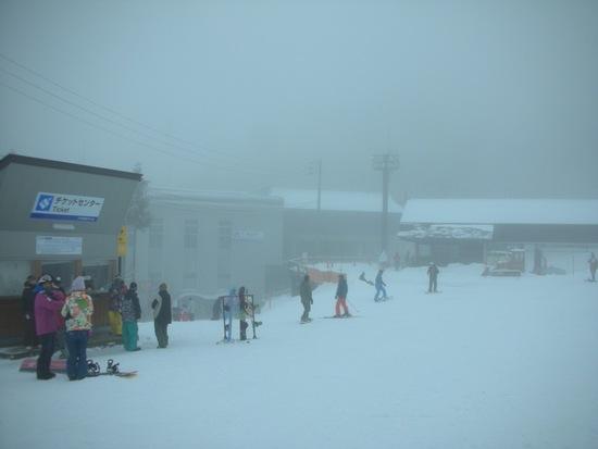 朝のうちガス|野沢温泉スキー場のクチコミ画像