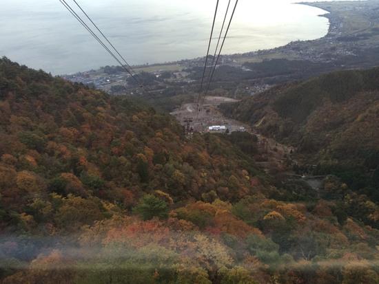 琵琶湖をみおろ見下ろすロケーション