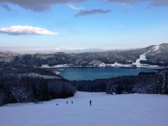 青木湖が神秘的でした|白馬さのさかスキー場のクチコミ画像