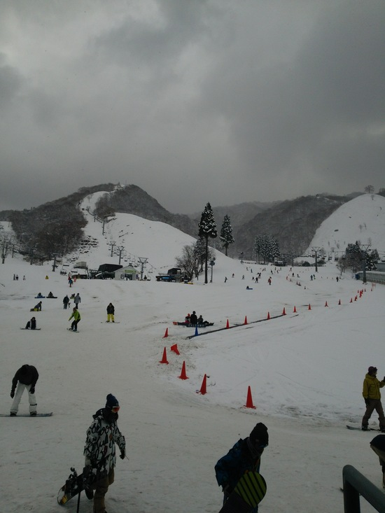 オープン日の初滑り!|奥伊吹スキー場のクチコミ画像1