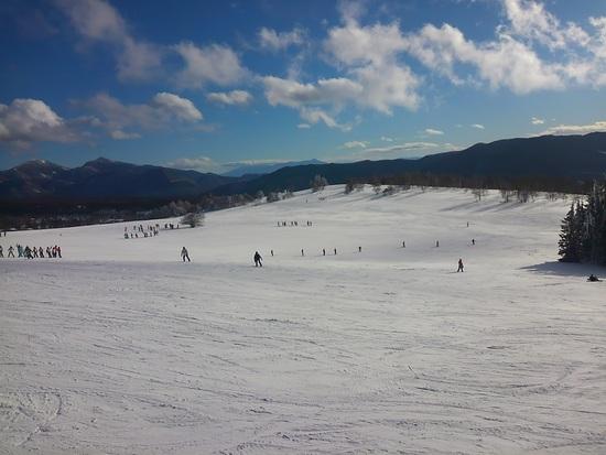 ブラックバーンの雪道に注意(# ゜Д゜)|菅平高原スノーリゾートのクチコミ画像1
