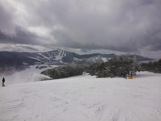 ブラックバーンの雪道に注意(# ゜Д゜)|菅平高原スノーリゾートのクチコミ画像2