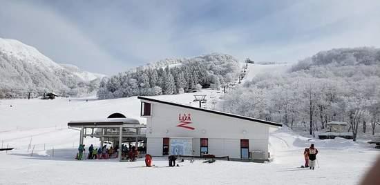 雪質、斜度、コース幅、樹氷最高でした。|蔵王ライザワールドのクチコミ画像3