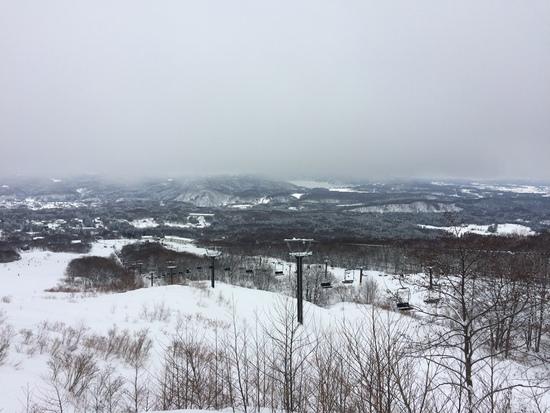 ガスが…。|池の平温泉スキー場のクチコミ画像