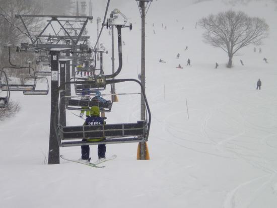 パウダー三昧のスキー場|白馬コルチナスキー場のクチコミ画像