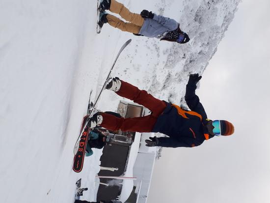やっと雪が|箕輪スキー場のクチコミ画像