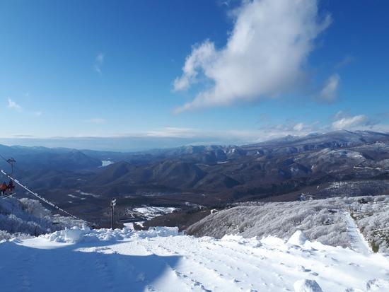 やっと雪が 箕輪スキー場のクチコミ画像2