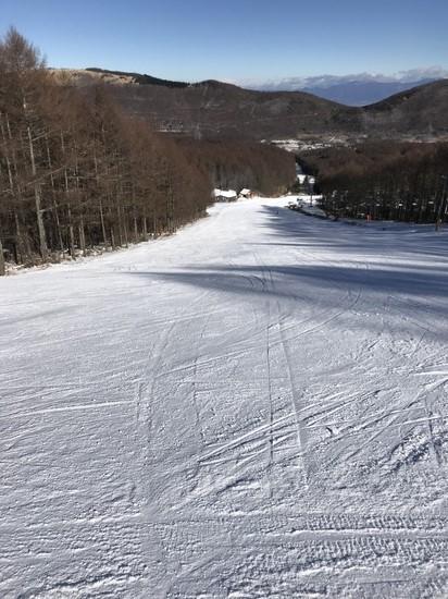 今シーズン初滑り|ブランシュたかやまスキーリゾートのクチコミ画像