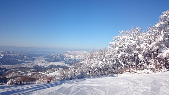 雪少な目でも最高!|スキージャム勝山のクチコミ画像1