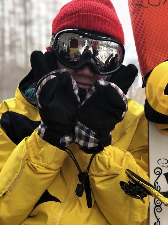 ゴンドラで記念に1枚|丸沼高原スキー場のクチコミ画像