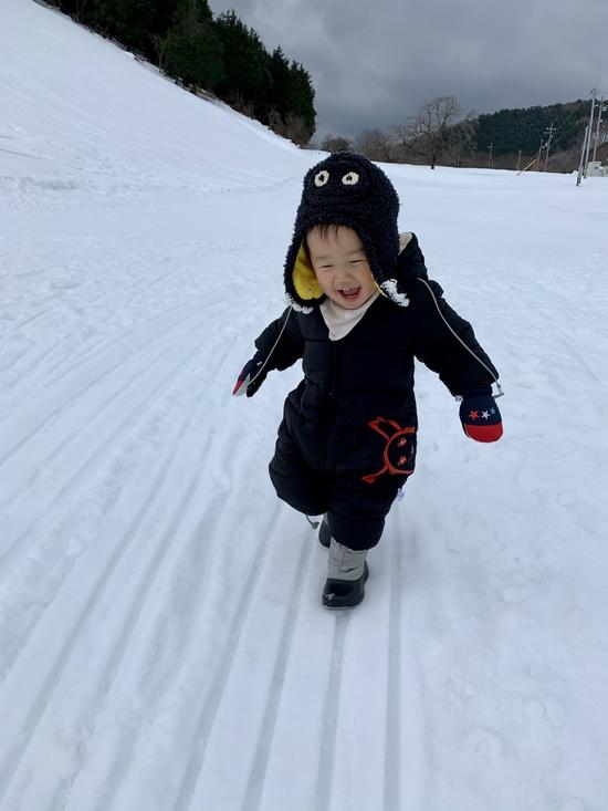 はじめての雪あそび|アップかんなべのクチコミ画像