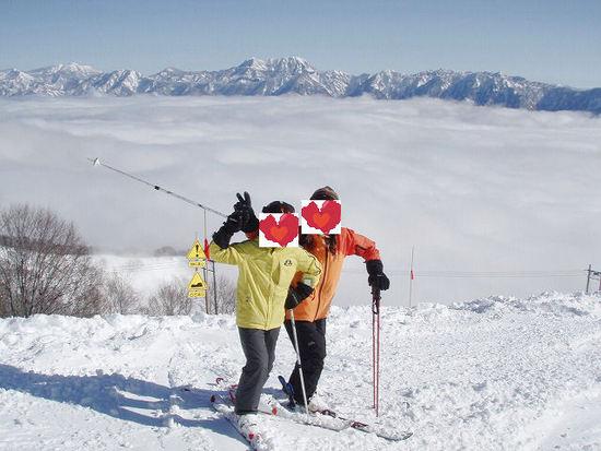 ファミリーから上級者まで|栂池高原スキー場のクチコミ画像