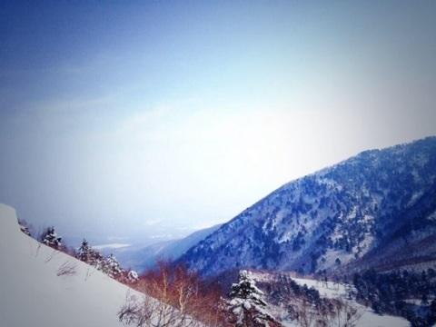 晴天絶景!雪質最高!!そば団子激ウマ!!!|戸隠スキー場のクチコミ画像