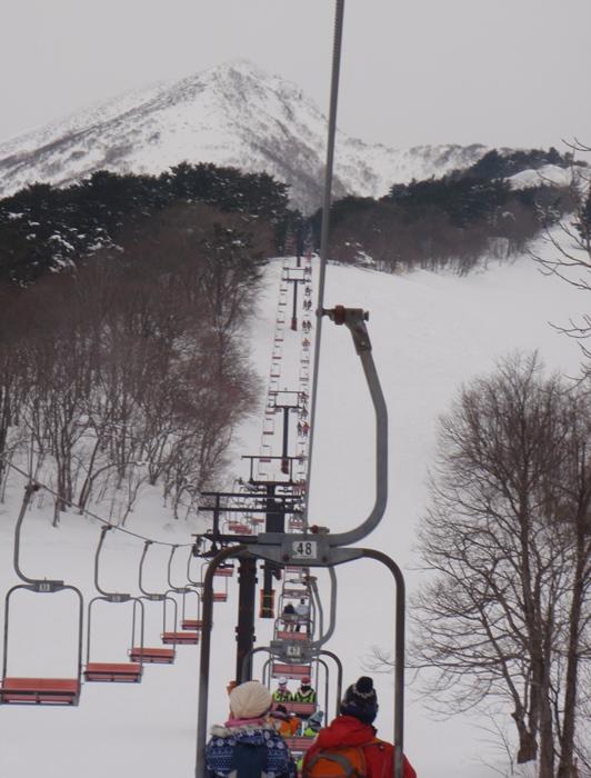 快晴、ゲレンデ雪質、リフト待ち、スカスカで快適|猪苗代スキー場[中央×ミネロ]のクチコミ画像2