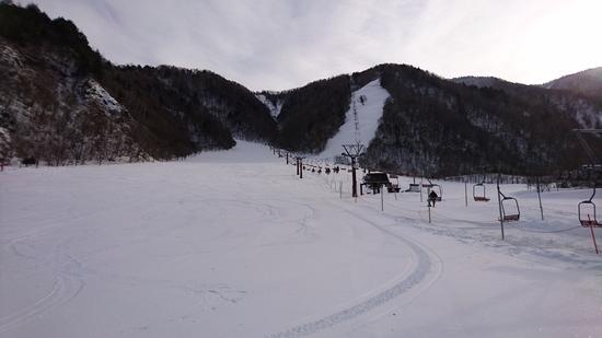 キレイな圧雪がかかってます|平湯温泉スキー場のクチコミ画像1